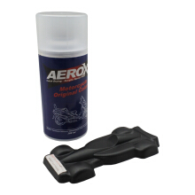 Cat Semprot Aerosol AEROX 800 - HM MATT GUN POWDER BLACK