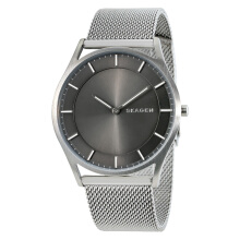 Skagen Holst Gray Dial Stainless Steel Mesh Bracelet Watch [SKW6239] Silver
