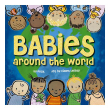Babies Around The World Book For Baby