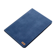 Ins I-198 Denim Core sheer New2017 Apple Ipad 9.7 protective cover case-Blue