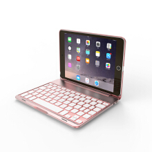 Smatton For Bluetooth Keyboard Case For Apple iPad mini4 Wireless Keyboard for Tablet Cover Holder F8Smini4