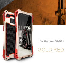Brovp - Casing R-just Powerful Alloy Case for Samsung Galaxy S8