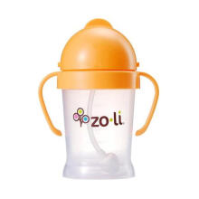 Zoli Bot Straw Sippy Cup - Orange [6oz]