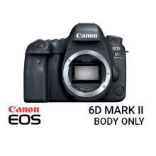 Canon EOS 6D Mark II DSLR Camera Body Only Black