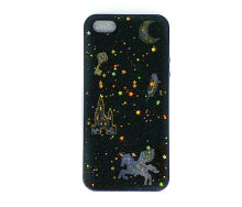 Softcase Sparkling Galaxy Iphone 5G / Iphone 5S / Iphone SE