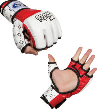 FAIRTEX Super MMA Gloves - WhiteRed FGV17 M