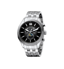 Moment Watch Guy Laroche G3008-04 Jam Tangan Pria - Stainless Steel Grey