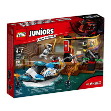 LEGO Juniors Zane's Ninja Boat Pursuit 10755