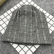 Zanzea 0051Mens Womens Winter Slouchy Beanie Caps Outdoor Double Layers Earmuffs Brimless Bonnet Dark Grey