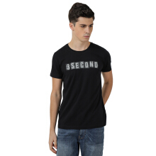 3SECOND Men Tshirt 0311 [103111812] - Black