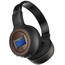 BESSKY 3.0 Stereo Bluetooth Wireless Headset/Headphones With Call Mic/Microphone_ Brown