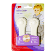 3M Child Pengaman pintu Lemari Cabinet Lock SC-42 White Not Specified