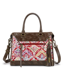 SAKROOTS Seni Satchel in Sweet Red Brave Beauti