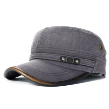 Outdoors Cotton Sunshade Baseball Cap For Mens Casual Military Durable Flat Hat