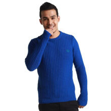 Fredperry Men Blue Knit Sweater - XXL Size