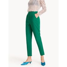 Center Seam Tapered Pants - Green