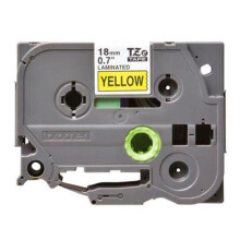 BROTHER Label Tape TZE-641 18MM Black on Yellow