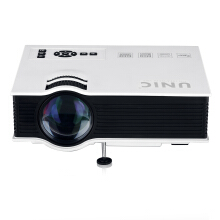 UNIC UC40 Portable Mini LED Projector EU PLUG WHITE