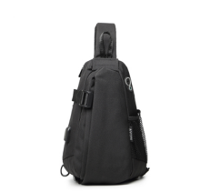 Ins I-222 Leisure shoulder&riding bag(Small Size 23*10*32CM)-Black