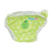 Swimava SWM414 Green Apple Swimming Diaper - Green