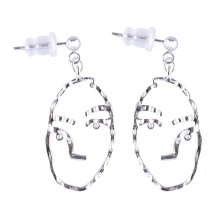 VOITTO Fashion Jewelry Misslora Two Side Face C4 Earrings