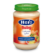 HERO BABY Import Premium Food Chicken Vegetables 200 gr