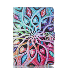 Sentum Apple iPad mni 4 Case Tablets Flip Stand Leather Colorful leaf