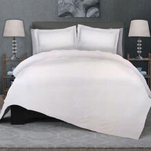 CELINA Sprei Set & Quilt Cover Single - Icon White - 100x200x40cm