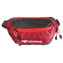 Waist Bag Hexagon HXWB01002 Merah Red