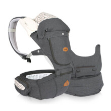 I-ANGEL Hipseat Carrier Miracle Melange - Charcoal