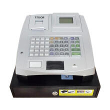 TISSOR T-5000 Mesin Kasir With Cash Register -  Grey/Black