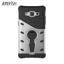 JEREFIHS SAMSUNG A5 2015 Case Multi-Layer Hybrid Protective Case with 360 Degree Rotating Stand for SAMSUNG A5 2015 Cover