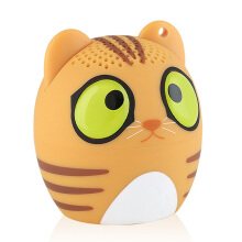 Vinmori Mini Bluetooth Animal Wireless Speaker with TRUE WIRELESS STEREO TECHNOLOGY Cat