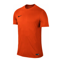 NIKE Ss Park Vi Jsy - Safety Orange/Black