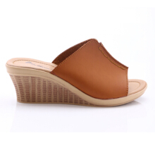 Dr. Kevin Women Wedges Sandals 27315 - Tan