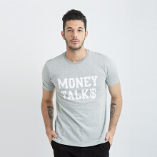 ONE HOURS Money Talks T-Shirt Men - Grey