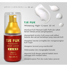 TJE FUK Whitening  Night Active Cream 30ml
