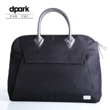 dpark Classic Business Briefcase for 15.6 inch Notebook - Black