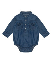 HEY! BABY Jeany Denim Romper - 18-24m