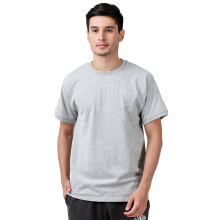 CHAMPION Classic Jersey Ringer Tee - Oxford Grey