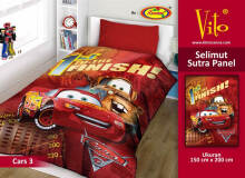 Selimut Vito Sutra Panel 150x200 Cars - Red Red