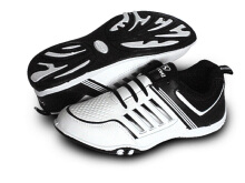 RECORD Cupertino Men Running Shoes White Black