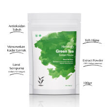 HERBILOGY Green Tea Extract Powder - 100 Gr