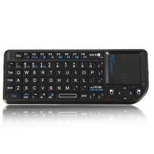 Rii Mini X1 2.4G Wireless Air Keyboard with Mouse Touchpad Black