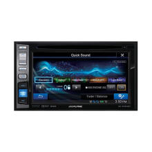 ALPINE IVE W554 EBT - HEADUNIT DOUBLE DIN - Hitam