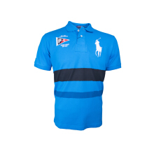 POLO RALPH LAUREN - Custom-Fit Lacoste Polo Shirt Fall Royal Men