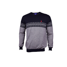 POLO RALPH LAUREN - Sweater Black-Khaky Men - 000458