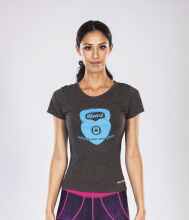 GRIPS Ladies Kettle Tshirt BluePrint - Grey