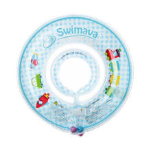Swimava SWM106 Choo Choo Train G1 Starter Ring Ban Renang Anak - Blue