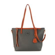 HUER Mollyu Tote Bag - Grey